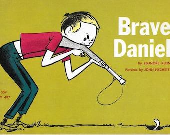 Vintage Mid Century Children's Book - Brave Daniel