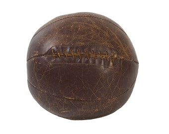 Large Leather Medicine Ball