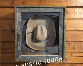 Display case for cowboy hat