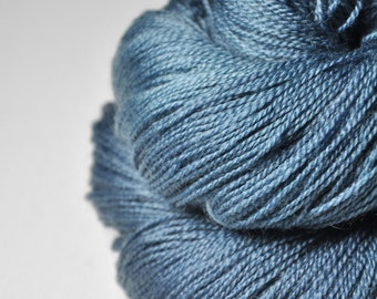 Hazy winter sky - Merino/BabyCamel Lace Yarn - LIMITED EDITION