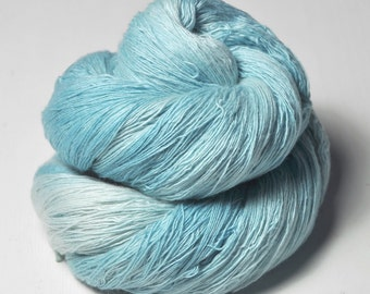 Dripping water OOAK -  Merino/Cashmere Fine Lace Yarn