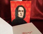 Severus Snape Valentine's Day card