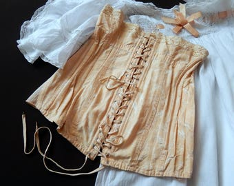 French Vintage CORSET from 1930s/40s