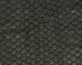 For Annie, sweet Annie - Black Arapaima skin mini Duffle