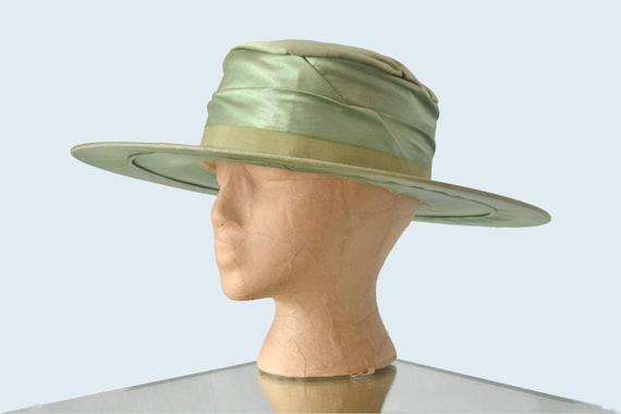 Edwardian Green Silk Hat