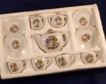 Price Products Vintage 11 Piece China Tea Set Made in Taiwan, 1970s