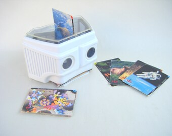Vintage 3D IQ Viewmaster Stereo Viewer Photo Viewer Photography Physics Camera Reflection Light STEM Science