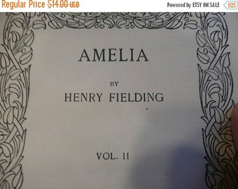 AUTUMN SALE 1914 publication of Amelia volume 2 by Henry Fielding
