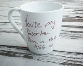 Personalized Mug with Handwritten Note