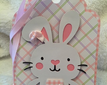 Easter Bunny Extra Large Gift Tag