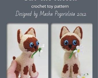 Amigurumi Cat Pattern Japanese : Maneki Neko Lucky Cat amigurumi crochet doll PATTERN - cat ...