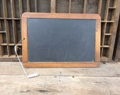 """RESERVED FOR GAIL - Antique Natural Slate Classroom Chalkboard  - Enter """"GREEN15"""" for 15% off your purchase!"""