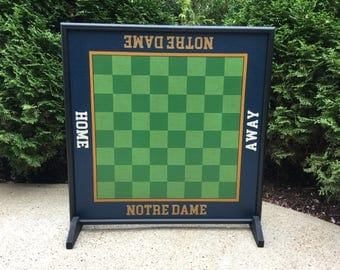 """25"""", Chess, Game Board, Wood, Game Boards, Folk Art, Primitive, Wooden, Hand Painted,"""