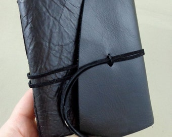 Small Leather Sketchbook Field Journal