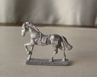 Vintage Miniture Horse Figure Stallion RAL PARTHA 1977