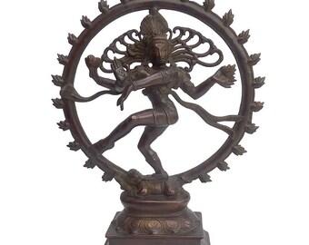 Nataraja / Brass / Shiva Nataraja / Shipping Included in the U.S.