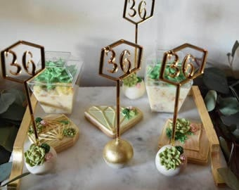 Geometric Age/Number Drink Stirrer/ Stir Stick/Monogram Drink Stirrer/Drink Stick/Cakepop Stick/Treat Stick