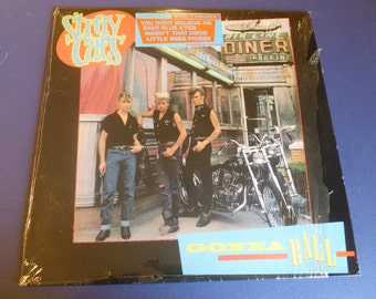 Stray Cats Gonna Ball Vinyl Record STRAY 2 PolyGram Records Made in England 1981