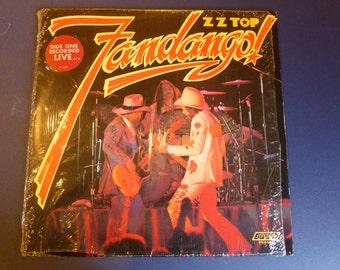 ZZ Top Fandango Vinyl Record PS 656 London Records 1975