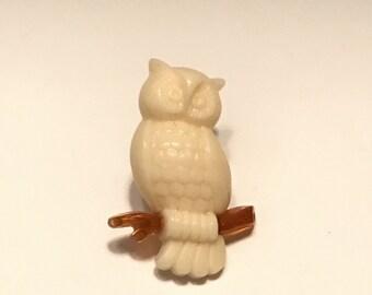 Owl Pin AVON