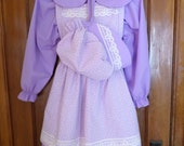 3pc Prairie Dress Set- Girl's SZ 8- See Sizing Details