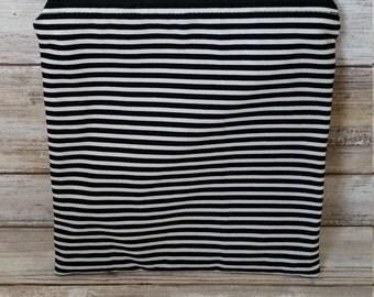 Snack-e sandwich bag. Skiny stripes. Cotton