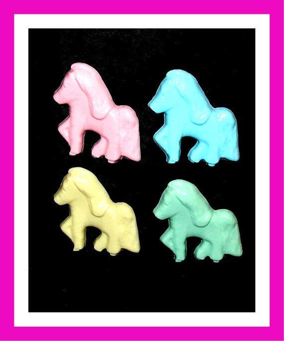 24 Little Pony Horse Soap Favors,Birthday Party Favors,Baby Shower Favors,Personalized Button Pin,Girl Birthday,Boy Birthday,Kids Soap,Fun