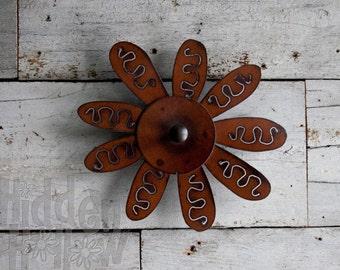 Wallflower™ | Hook or Hanger | Rust Patina