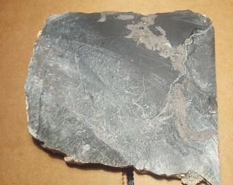 Beautiful Magnetite Jade slab