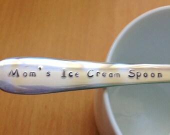 Moms Ice Cream Spoon Tablespoon