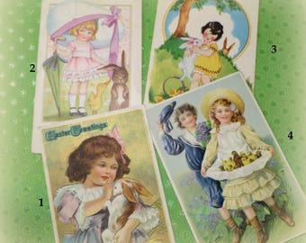 1 Vintage Easter Postcard