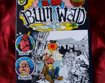Bum Wad Comic Comix 1971 Yahoo Demented Twisted Humor Satire adult mature