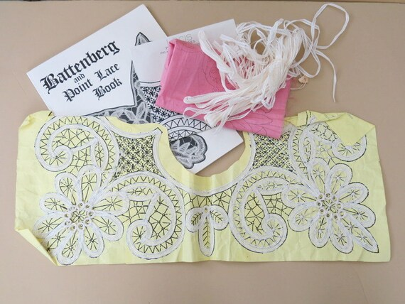 how to make battenburg lace