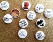12 Pins — You Choose Which Ones!