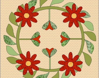 Hope Quilt Block Pattern
