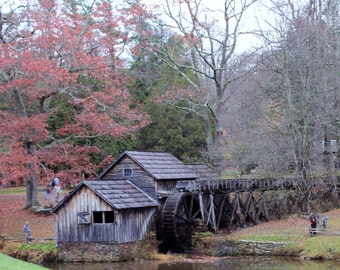 """From the """"Appalachian Scenic"""" Series.  Mabry Mill on Blue Ridge Parkway"""
