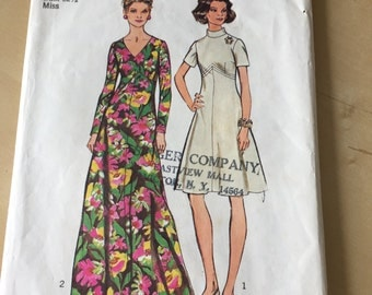 Simplicity #5850 - Size 10 Misses' and Women's Dress in Two Lengths Pattern
