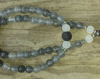 Cloud Crystal Pocket Mala 2