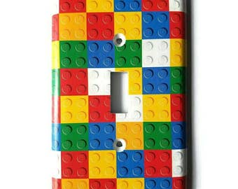 Lego Light Switch Cover, Light switch plate, Outlet cover