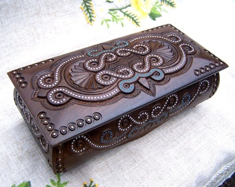 Personalized jewelry box Personalized wooden box Personalized ring box Personalized wedding jewelry box Wooden jewelry box Wedding ring B1