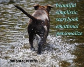 once again, ( a spirit's song ) choose an image/  storybook /emotional/simplistic /RESCUE/unique empathy condolence /pet sympathy/dog loss