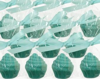 Party Favor Soap - Choose Color- Party Favor - Cute Cupcake
