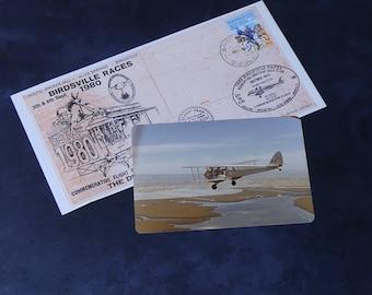 """Vintage Official Australia Post Commemorative Envelope """"Birdsville Races"""" 1980"""