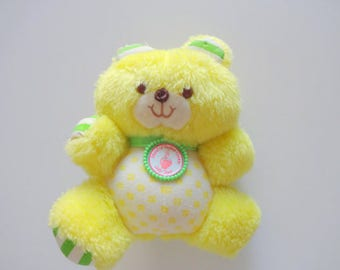 Vintage Strawberry Shortcake Jelly Bear Plush 1981