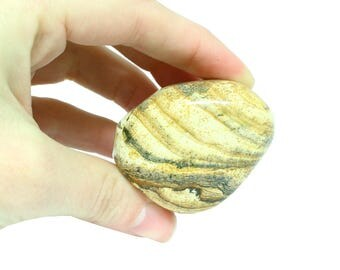 Picture Jasper Large Tumbled Stone