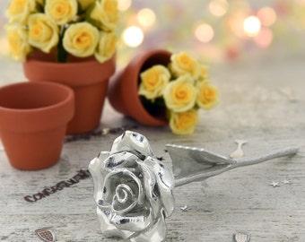 8th Anniversary Gift Everlasting Rose - 8 Year Anniversary Gift Idea