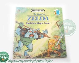 Vintage Legend of Zelda Book: Molblin's Magic Spear 1980s Paperback