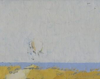 Original Oil Painting by John Shanabrook - 5 x 7 - The Causeway
