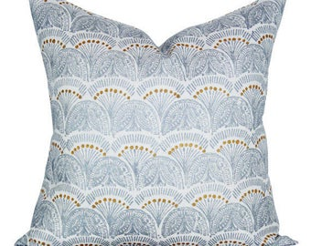 Faris pillow cover in Silver - ON BOTH SIDES