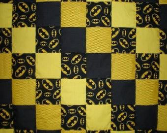 Batman Patchwork  Quilt